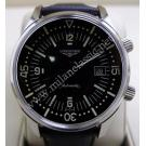 RESERVED-Longines Heritage Legend Diver Black Dial S/S Auto 42mm (With Card + Box)