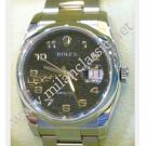 "Rolex 116200 Datejust Black Computerized Arabic Numeral Dial Auto S/S 36mm ""M-Series"" (With Box)"
