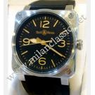 RESERVED-Bell & Ross-BR03-92 Heritage Auto Steel/Rubber 42mm (With Box + Card)