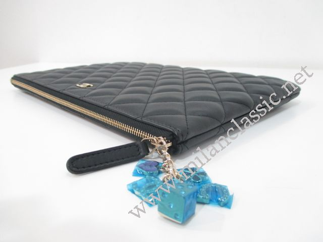 SOLD(已售出) - NEW - Chanel Black Lambskin O Case Medium With Casino Coin d6c918bae04fc