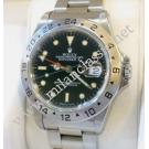 Rolex 16570 Explorer II Black Dial Auto S/S 40mm (With Box)