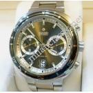 Rado-D Star 200 Dark Grey Dial Chrono XL Auto S/Steel 44mm (With Box + Card)