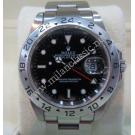 RESERVED-Rolex-16570 Explorer II Black Dial Auto S/S 40mm (With Card + Box)