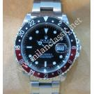 "Rolex 16710 GMT II Black & Red Color Bezel Auto S/S 40mm ""P-Series"" (With Box + Verified Paper)"