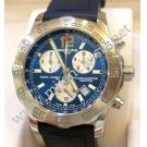 Breitling Colt Chronograph II Blue Dial Quartz 44mm Steel/Rubber