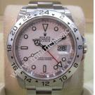 Rolex 16570 Explorer II White Dial Auto S/S 40mm (With Box + Card)