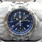 Tag Heuer Link Chrono Quartz Blue Dial S/S 40mm (With Box)