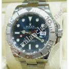 Rolex 116622 Yacht Master Blue Dial Platinum Bezel Auto S/S 40mm (With Box)
