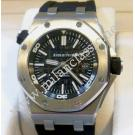Audemars Piguet Royal Oak Offshore Diver Black Dial Auto Steel/Rubber 42mm (With Box + Paper)
