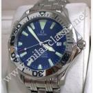 Omega Seamaster Diver 300m Blue Dial Auto S/S 41mm (With Box)