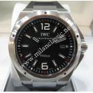 RESERVED WITH DEPOSIT - IWC Ingenieur Mission Earth Black Dial Auto SS/Rubber 46mm(With Card + Box)