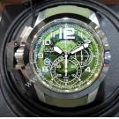 NEW - Graham Chronofighter Oversize Target Skeleton Green Dial Chrono Auto 47mm(With Card + Box)