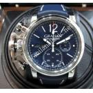 NEW - Graham Chronofighter Blue Dial Chrono Auto 44mm(With Card + Box)