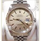 Rolex 16234 Gents Silver Linen Index Dial Auto 18K/SS 36mm (With Box)