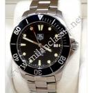 RESERVED WITH DEPOSIT - TAG Heuer Aquaracer Gents Black Bezel Auto S/S 41mm (With Box + Card)