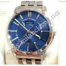 Maurice Lacroix Pontos Day Date Blue Dial Auto S/S 40mm (With Box + Card)