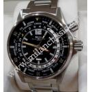 RESERVED WITH DEPOSIT - Ball Engineer Master II World Timer Black Dial Auto S/Steel 43mm (With Box + Card)