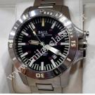 Ball Engineer Hydrocarbon Spacemaster Day Date Black Dial Auto S/S 42mm (With Box)