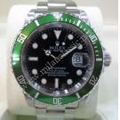 "Rolex 16610LV 50th Anniversary Submariner Green Bezel Auto S/S 40mm ""D-Series"" (With Box)"