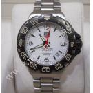 TAG Heuer F1 Mid Size White Dial Quartz S/S 35mm (With Box + Card)