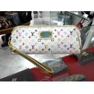 LV-Monogram Multicolor White Kate Bron Clutch...