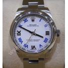 Rolex 177200 Oyster Perpetual White Roman Let...