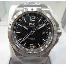 NEW-IWC Ingenieur GMT Black Dial S/S Auto 43mm(With Card + Box)