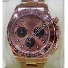 Rolex 116505 Cosmograph Daytona Pink Dial 18K Rose Gold Auto 40mm (With Box + Card)