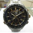 Seiko Astron SBXB007 GPS Solar Chrono Titanium / Ceramic 44mm(With Card + Box)