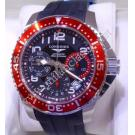 NEW-Longines Hydroconquest Gents Chrono Black Dial Auto Steel/Rubber 41mm (With Box + Card)