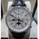 Longines Master Collection Chrono Calendar Moonphase Auto Steel/Leather 40mm(With Box)