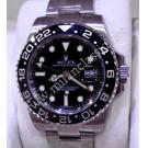 NEW-Rolex 116710LN GMT II Ceramic Bezel Auto S/S 40mm
