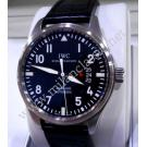 IWC Pilot Mark XVII Black Alligator Auto Steel/Leather 41mm (With Box + Card)