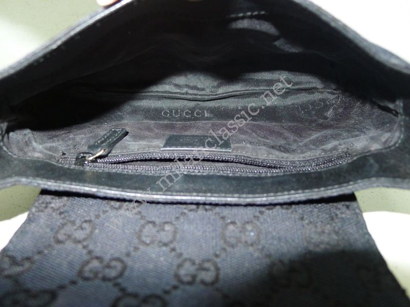 gucci leather top handle bag vintage