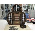 BURBERRY House Check 2-Way Bag