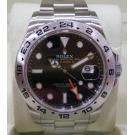 "SOLD - Rolex 216570 Explorer II Black Dial Auto S/S 42mm ""Random-Serial"" (With Box + Card)"