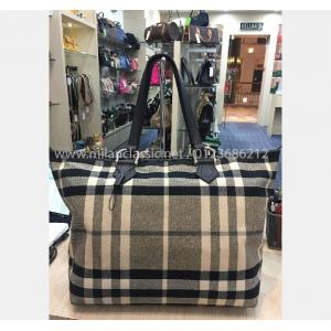 BURBERRY Canvas Shoulder Bag