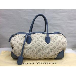 SOLD - LIMITED - LV Collection Printemps Denim Bowler 2-Way Bag