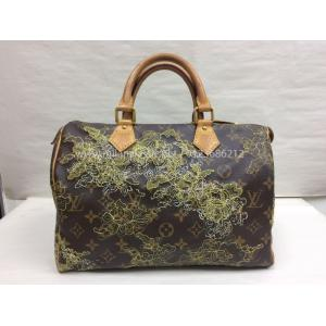 LIMITED EDITION - LV Monogram Canvas Gold Dentelle Speedy 30