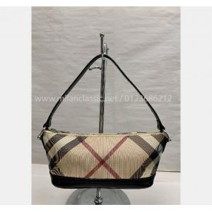SOLD - BURBERRY Nova Check Mini Pochette