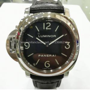 "SOLD - PANERAI Luminor Base Left-Handed S/S Winding 44mm ""PAM00219"" (With Card)"