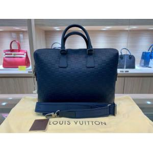 LV Damier Infini Leather Porte-Ducuments Jour Briefcase With Strap