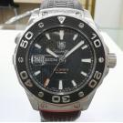 SOLD - TAG Heuer Aquaracer Calibre 5 Diver 500m Auto SS/Rubber 43mm ( With Box )