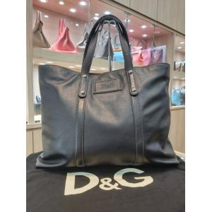 NEW - D&G Black Leather Men's Bag