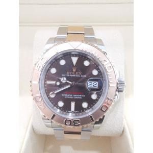 SOLD - ROLEX Yacht-Master 40mm Rose Gold & Steel 126621 Bronze Dial