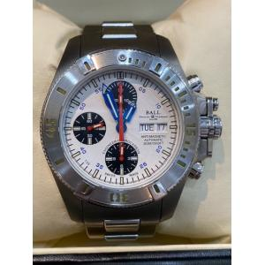 BALL Engineer Hydrocarbon Chrono White Dial titanium / SS Auto 42mm