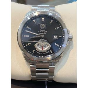 TAG HEUER Grand Carrera Calibre 6RS Black Dial Auto S/S 40mm