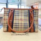 BURBERRY Prorsum Brown Leather Shoulder Bag - NETT PRICE