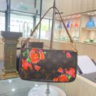 SOLD - Limited Edition - LV Monogram Rose Pochette Accessoires